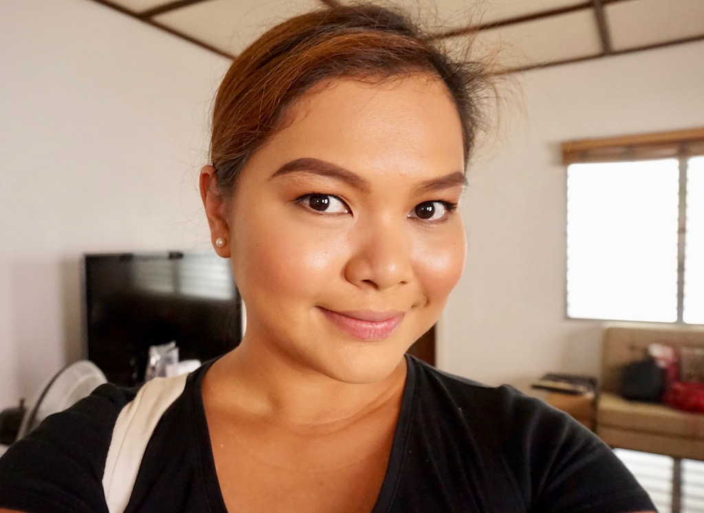 I wore my Charlotte Tilbury Matte Magic Foundation which yields a soft matte finish and has pretty good staying power.
