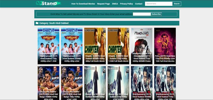 South hindi dubbed movie download website list