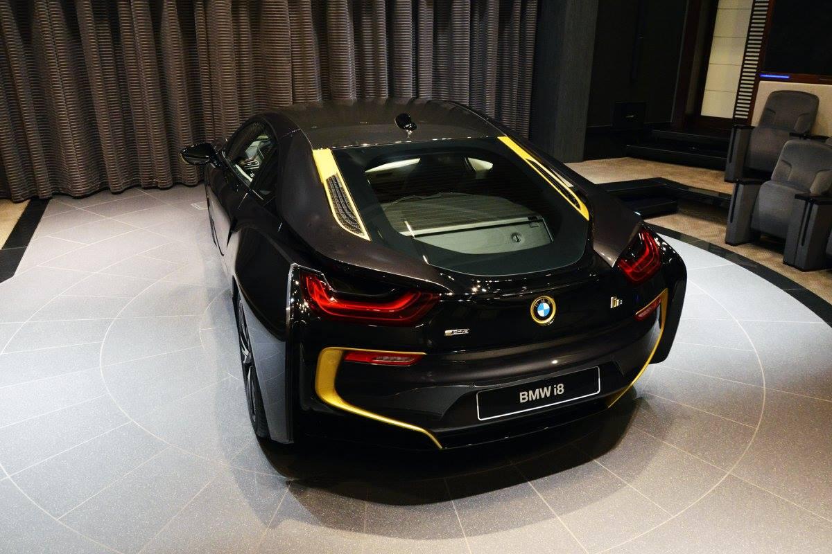 Soulsteer Com Plug In Hybrid Sports Car Bmw I8 Done In Black