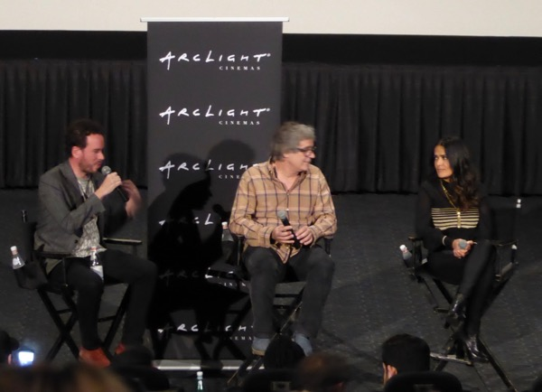 Salma Hayek Miguel Arteta Beatriz at Dinner Q&A ArcLight Hollywood
