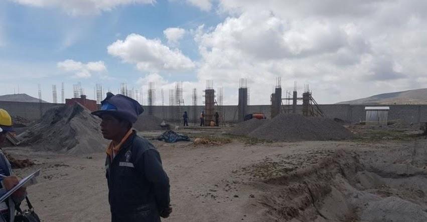 Contraloría supervisó ampliación de Instituto Tecnológico de Yunguyo - Puno