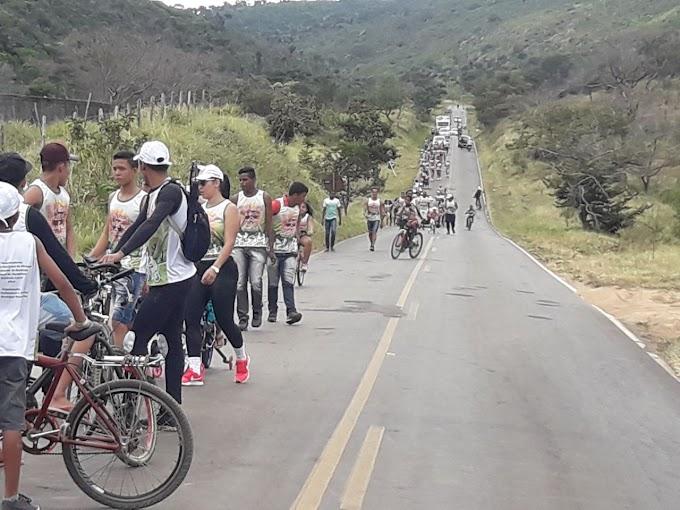 24ª CIPM garante segurança em passeio ciclístico em Mirangaba