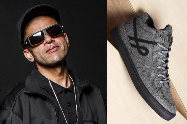 DJ KL Jay, do Racionais MC's, cria modelo de tênis inspirado em seu estilo de vida vegano
