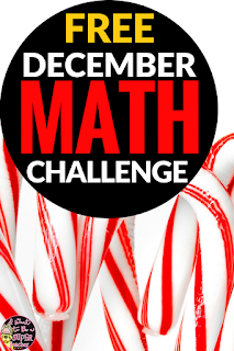 A FREE Christmas math activity with Santa themes. This December math challenge worksheet is perfect for advanced 2nd and 3rd graders. Use for math center activities, homework, problem of the week, small groups, or to get a breather during a holiday party. Fun for kids and NO PREP for teachers! Click for the free download. #christmas #free #christmasmath #education #math #secondgrade #thirdgrade #differentation