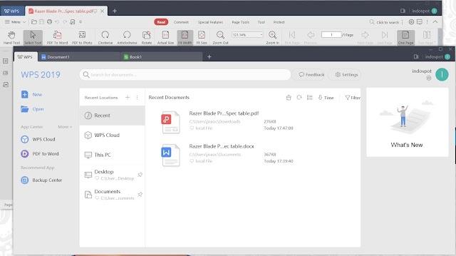 WPS Office 2019 11.2.0.8333 Cr@ck - Bộ ứng dụng văn phòng 2019