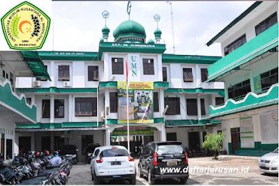 Daftar Fakultas dan Jurusan UMN Universitas Muslim Nusantara AL-Washliyah
