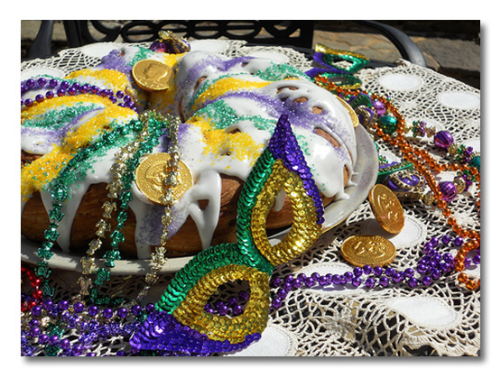King cakes are one of the most delicious parts of Mardi Gras