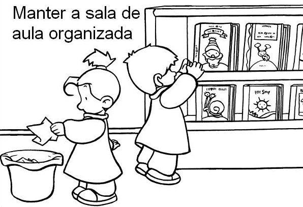 Blog Professor Zezinho Plaquinhas De Rotina Boas Maneiras