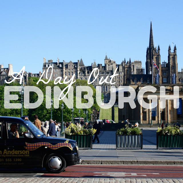 edinburgh day out tourist sightseeing visit