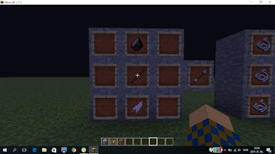 minecraft nyílvessző