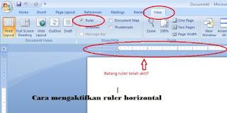 Cara membuat titik-titik rapi di Microsoft Word