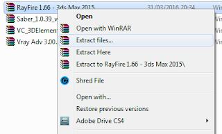 Cara Menginstal Plug In Rayfire di Autodesk 3DS Max