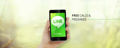 Aplikasi LINE messaging mencapai 500 juta download di Play Store