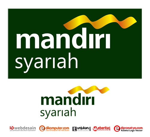 Download Logo Bank Mandiri Syariah Format Corel
