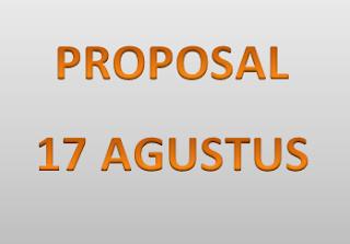 proposal 17 agustus 2017