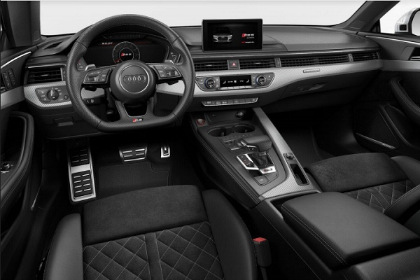 Interior Audi RS5 Coupé Argentina