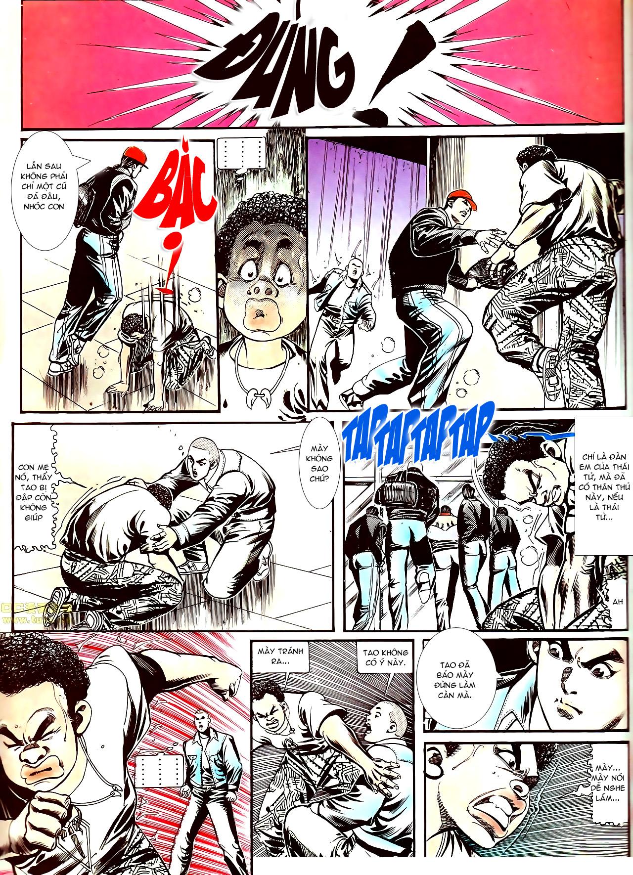 Người Trong Giang Hồ chapter 152: trăng sáng chiêm đông trang 18