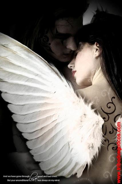 anjos,apaixonados,assas,branca