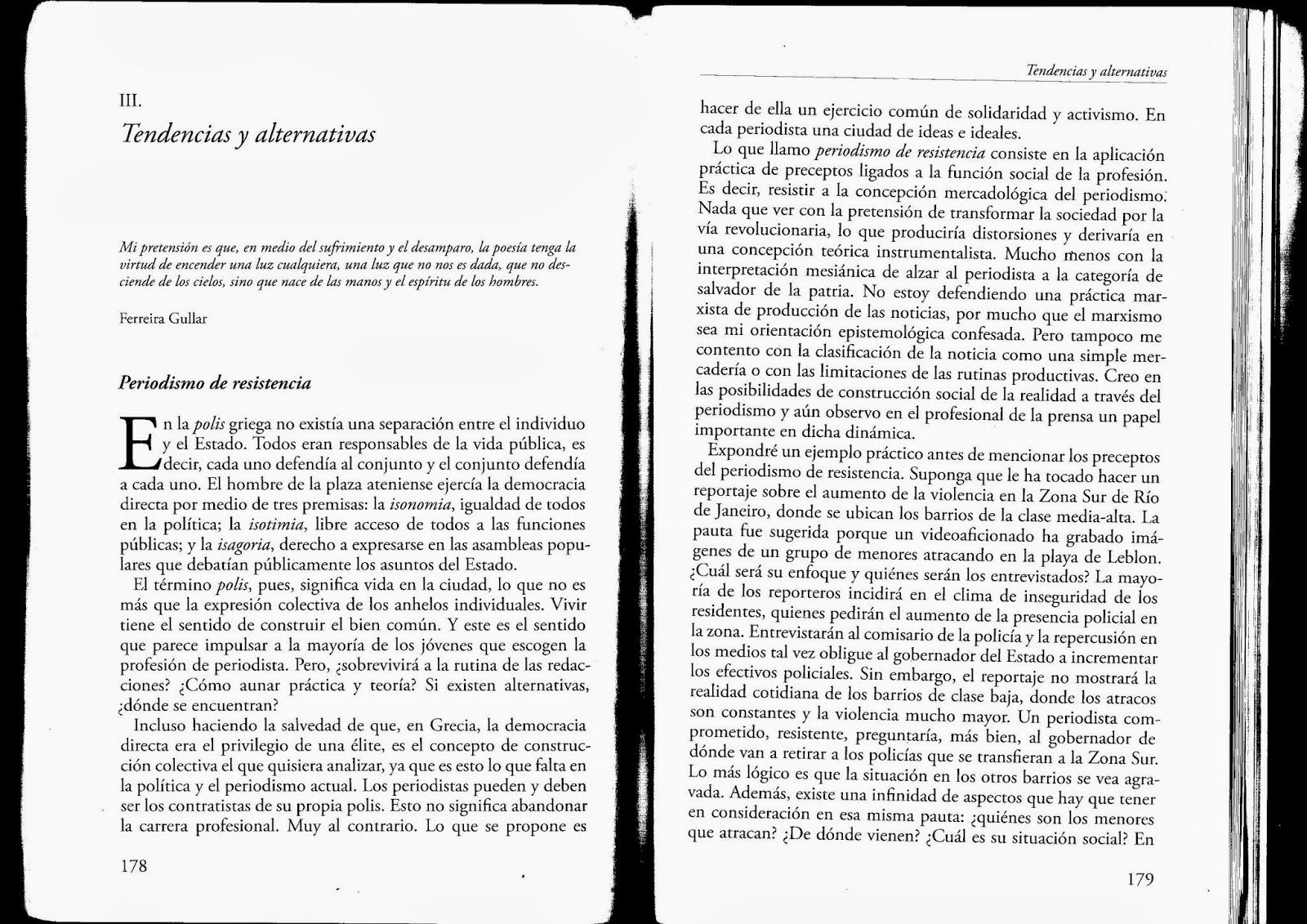 felipe pena de oliveira teoría del periodismo