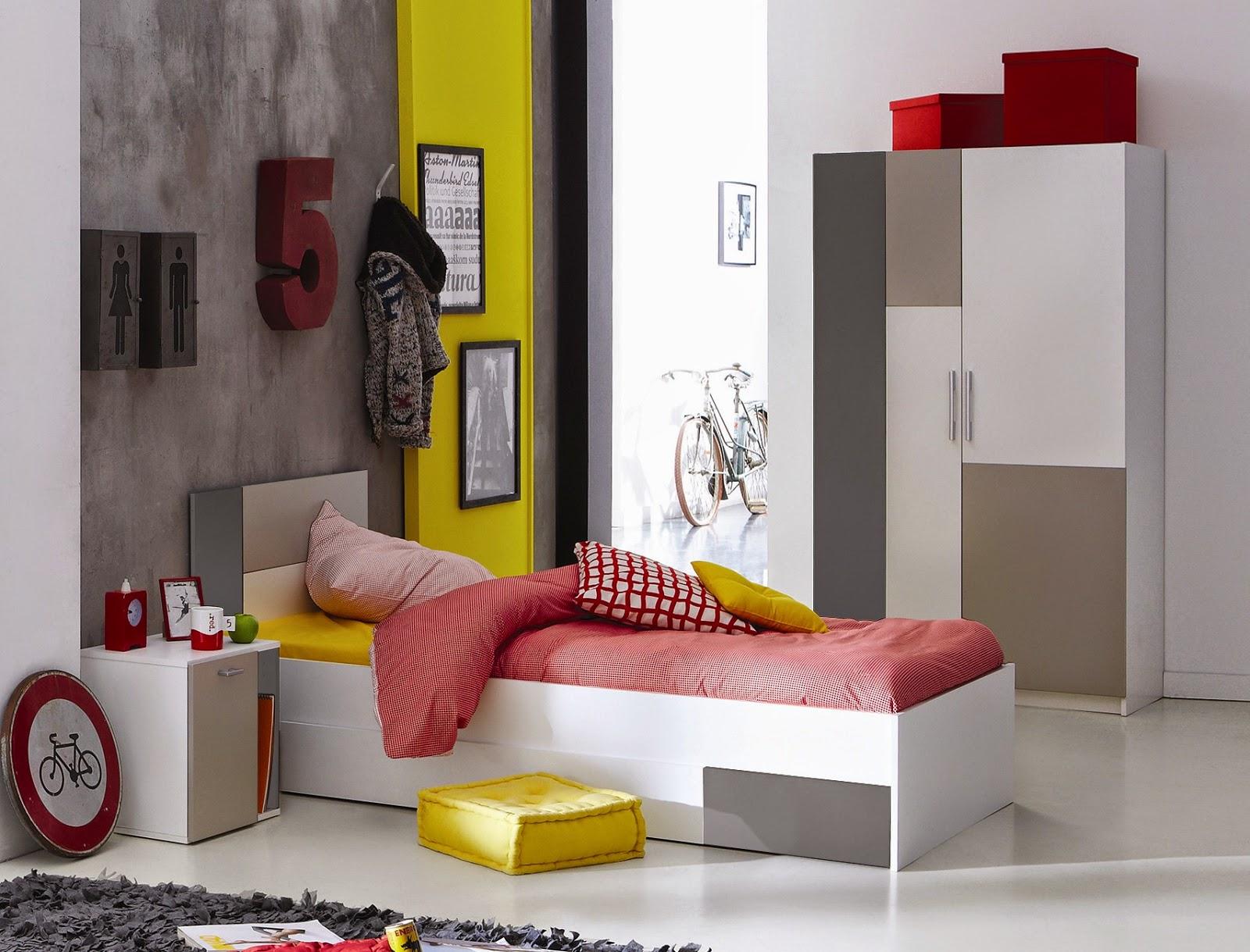 Habitaciones juveniles modernas dormitorios colores y for Roperos para dormitorios juveniles