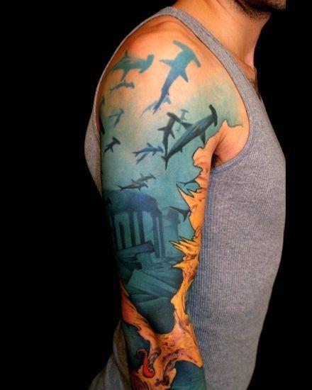 Tatuajes De Tiburones Significado Belagoria La Web De Los Tatuajes