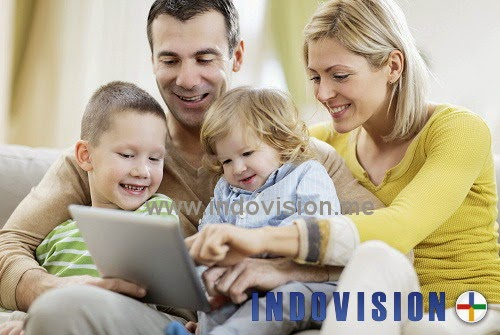 Cara daftar dan download aplikasi Indovision+.