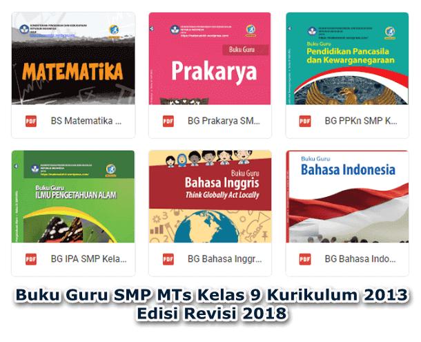 Buku Guru SMP MTs Kelas 9 Kurikulum 2013 Edisi Revisi 2018
