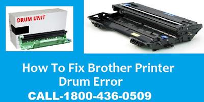How to Fix Brother Printer Drum Error