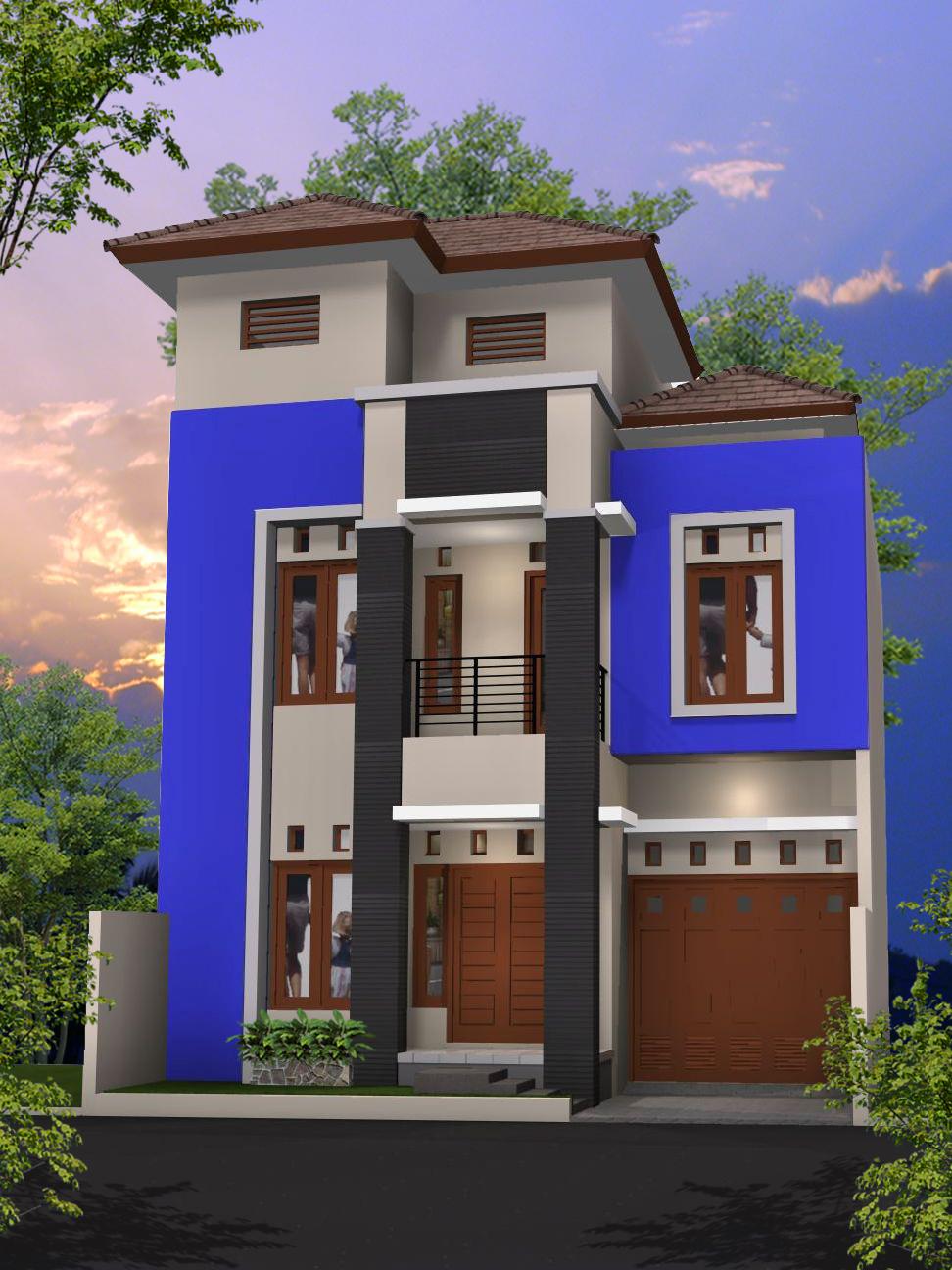 Desain Rumah Minimalis Pegunungan
