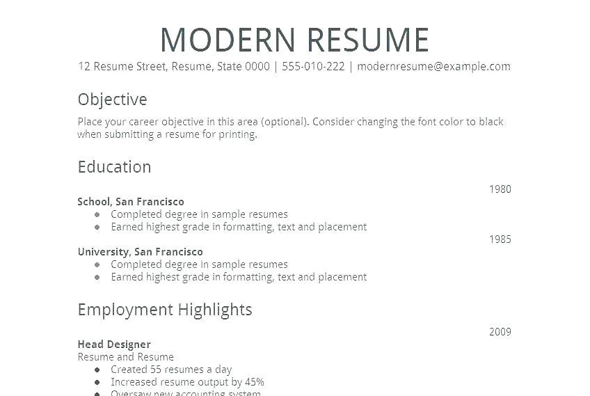 Apa Resume Format Sample - Resume Templates