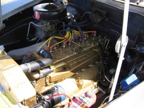 Vintage Sport Car 1950 Hudson Super Eight Coupe Auto