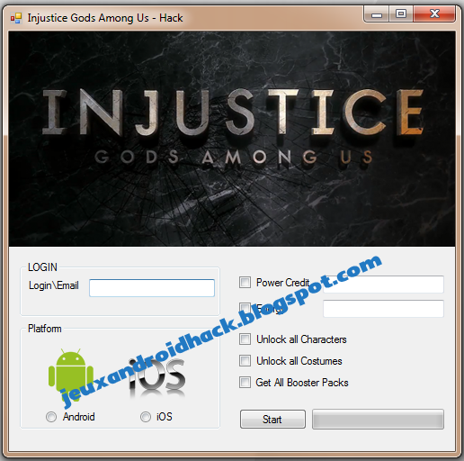 Injustice: Gods Among Us Hack Tool ~ Jeux Android Hacks