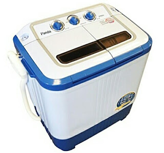 Panda Washer with Spin Dryer - Compact Washing Machine