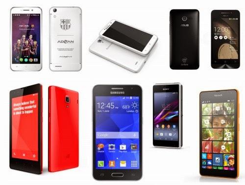 Harga Handphone 1 Jutaan