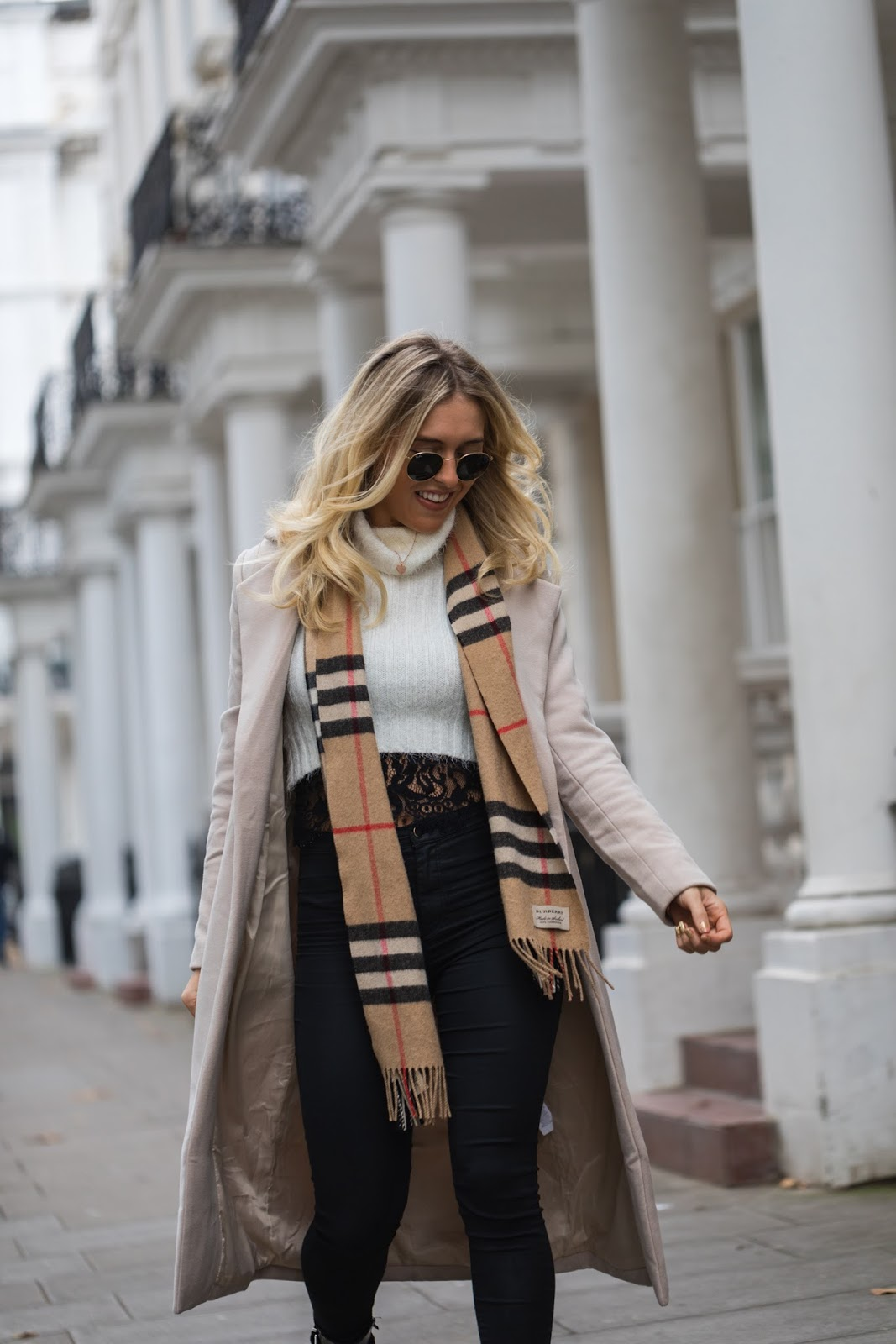 street style shot in london