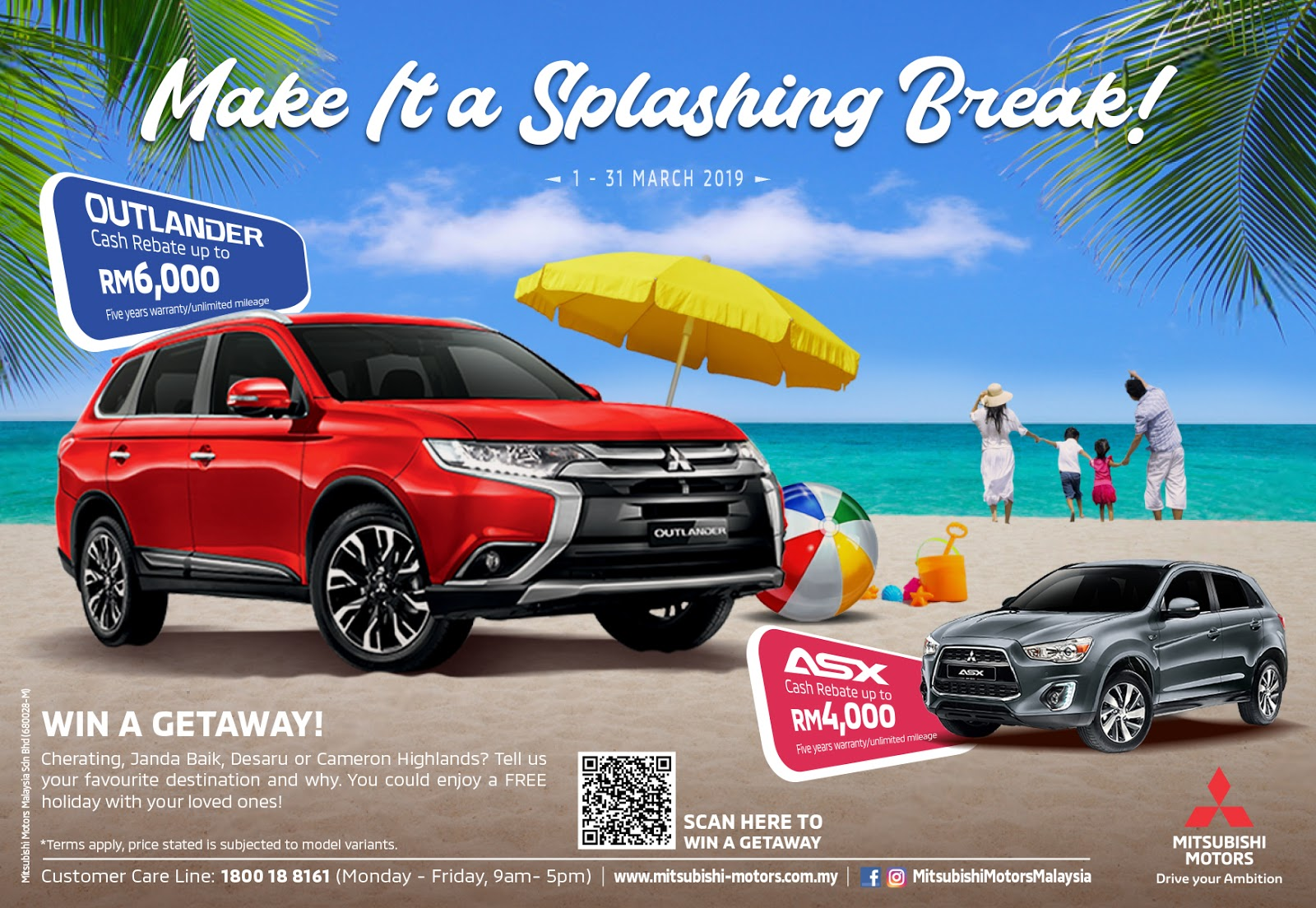 Motoring-Malaysia: Promotion: Buy a New Mitsubishi Outlander