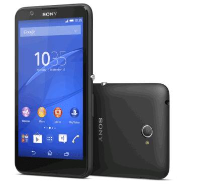 Sony Launches mid range Xperia E4