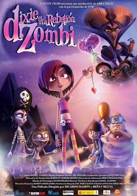 Dixie y La Rebelión Zombi 2014 DVD R2 PAL Spanish