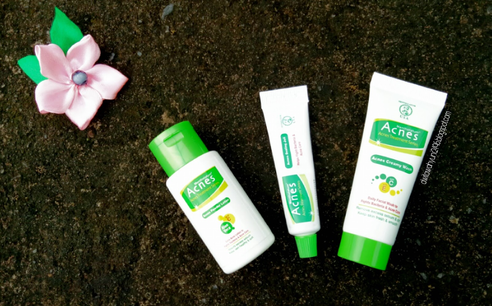 Gadis Kacang Bali Review Acnes Starter Pack Treatment Series Spot Care Obat Jerawat Creamy Wash