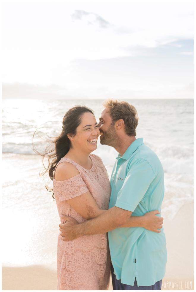 Maui Couples Portrait on the Beach
