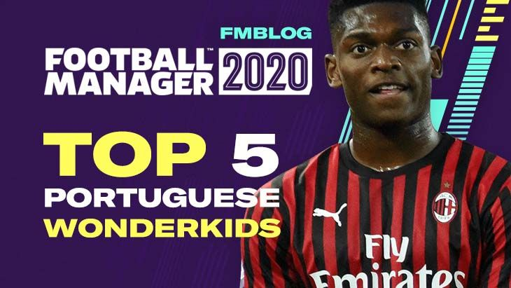 FM20 - Top 5 Wonderkids From Portugal