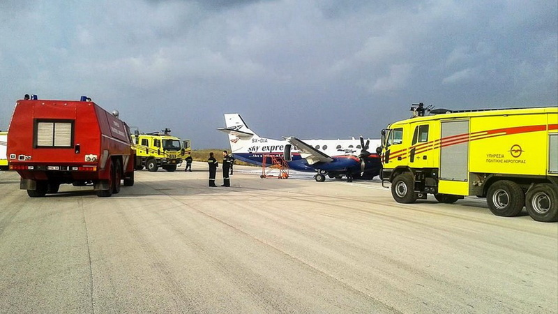 Ιδρύεται Πυροσβεστική Υπηρεσία στο αεροδρόμιο της Καβάλας