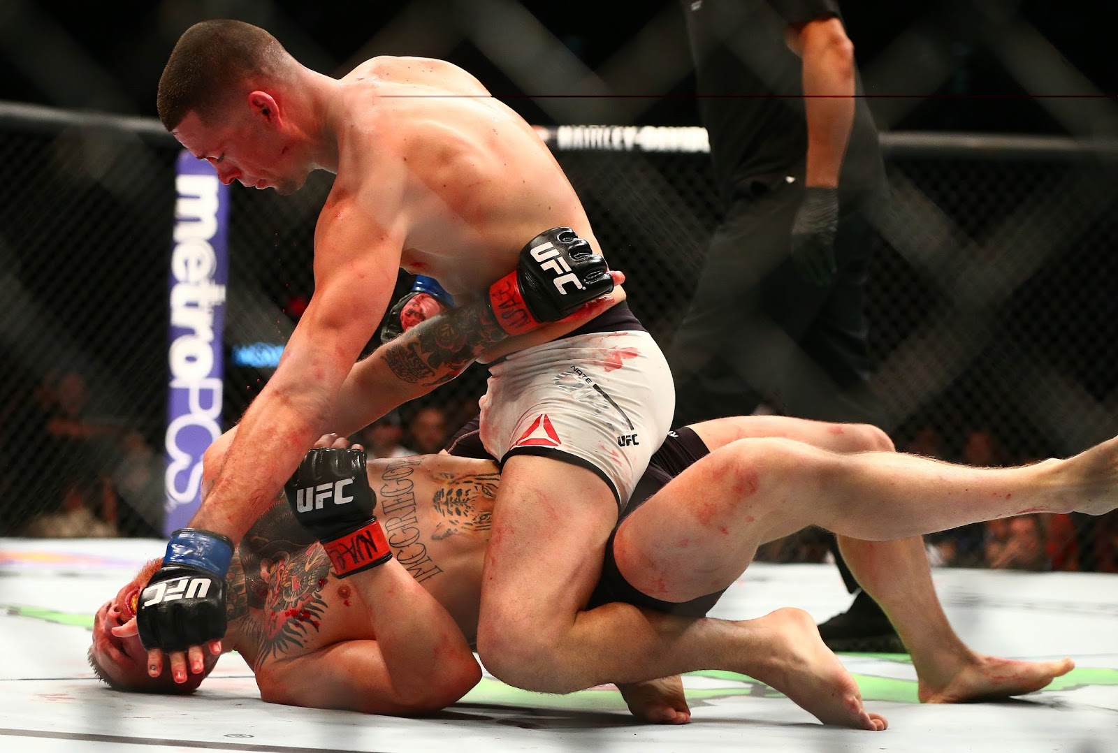 CONOR MCGREGOR VS. NATE DIAZ 15