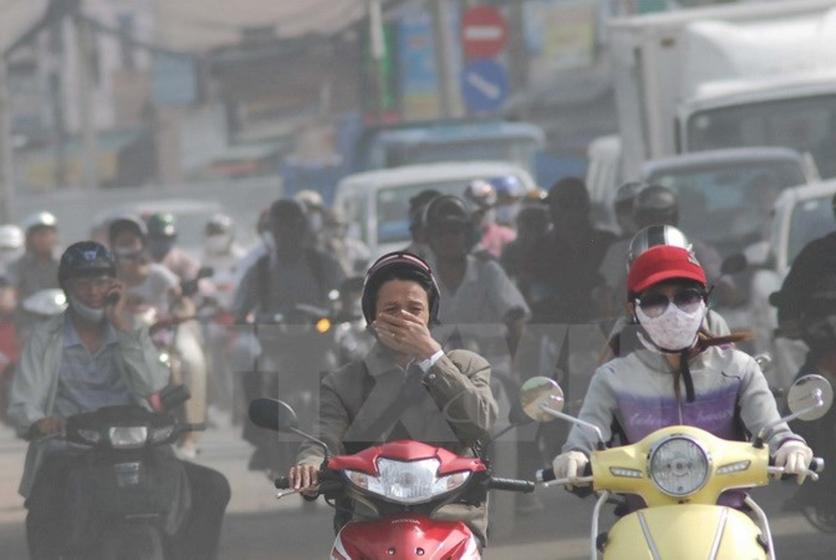 Tác động ô nhiễm không khí đến người dân Hà Nội