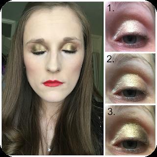 Next make me beautiful perfect look eyeshadow palette look