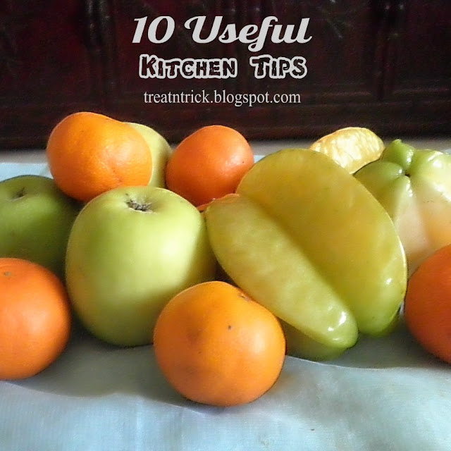 10 Useful Kitchen Tips by Treat and Trick