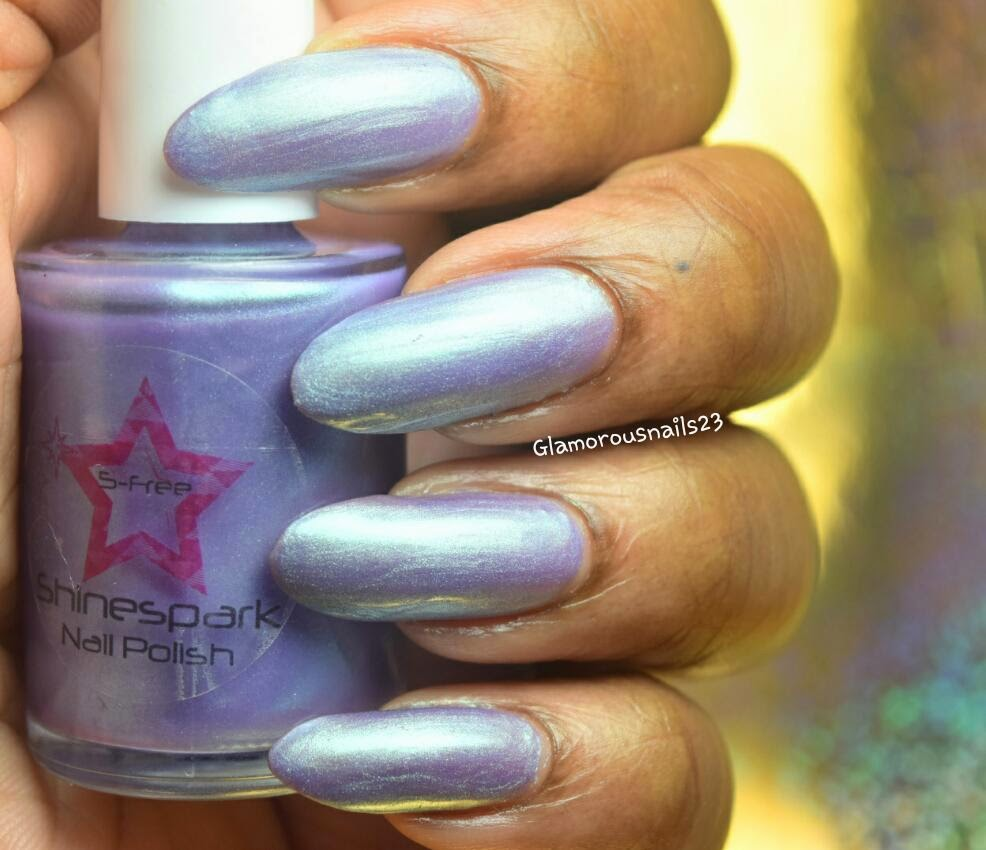 Shinespark Polish Purple Martin Swatch