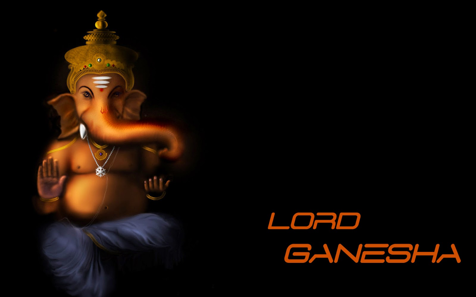 3d Lord Ganesha: Beautiful Wallpapers
