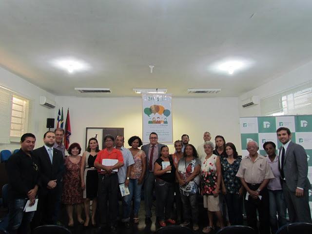 CONFERÊNCIA EM BONFIM PARA AMPLIAR SERVIÇOS DA DEFENSORIA PÚBLICA