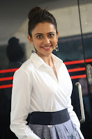 Rakul Preet Singh looks super cute in White Shirt and Skirt at Jaya Janaki Nayaka press meet 10.08.2017 018.JPG
